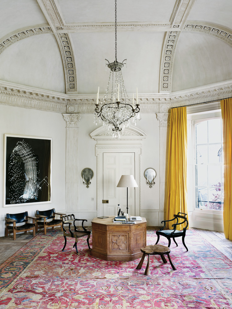 The New York Times: Designer Rose Uniacke's London Home