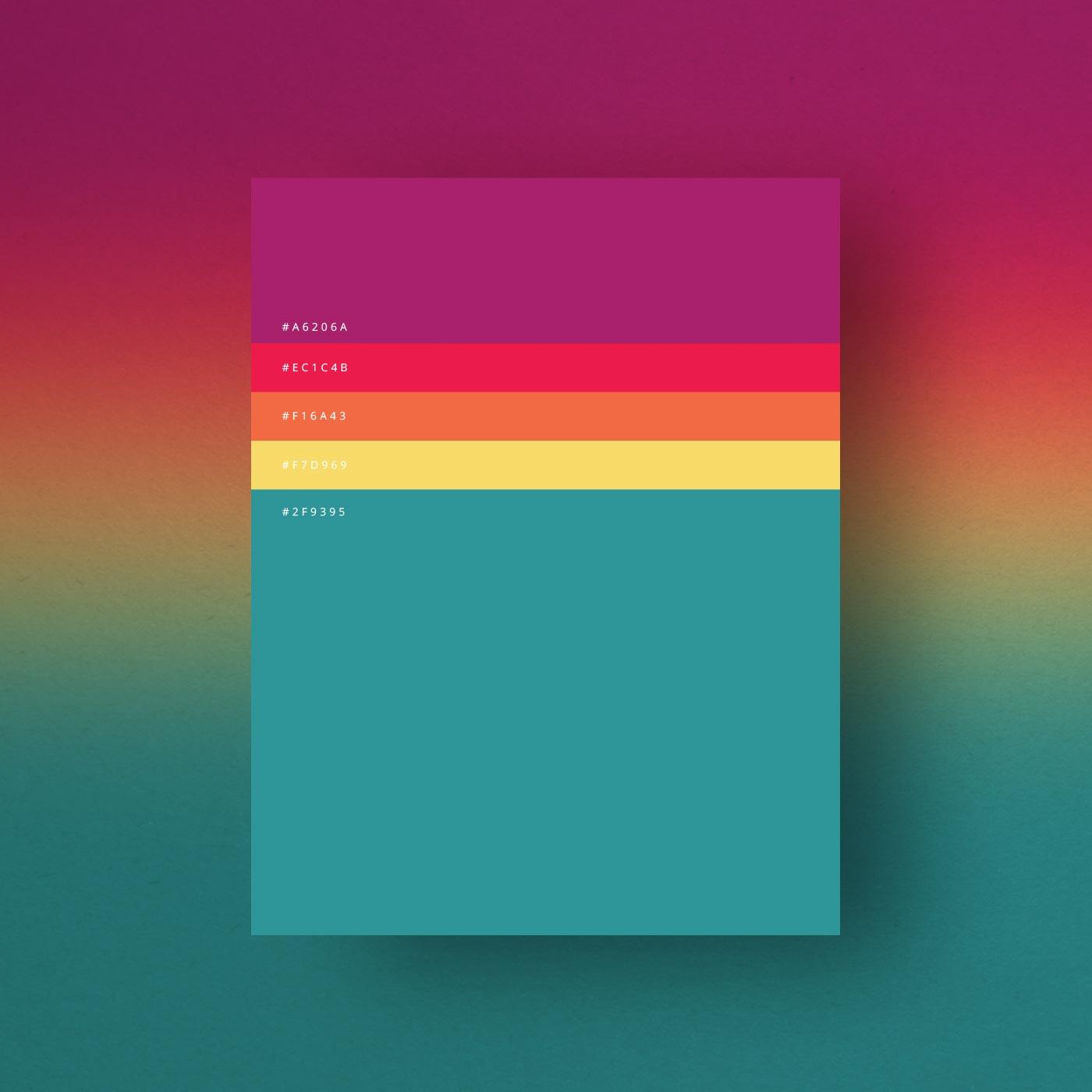 Minimalist Color Palettes of 2015