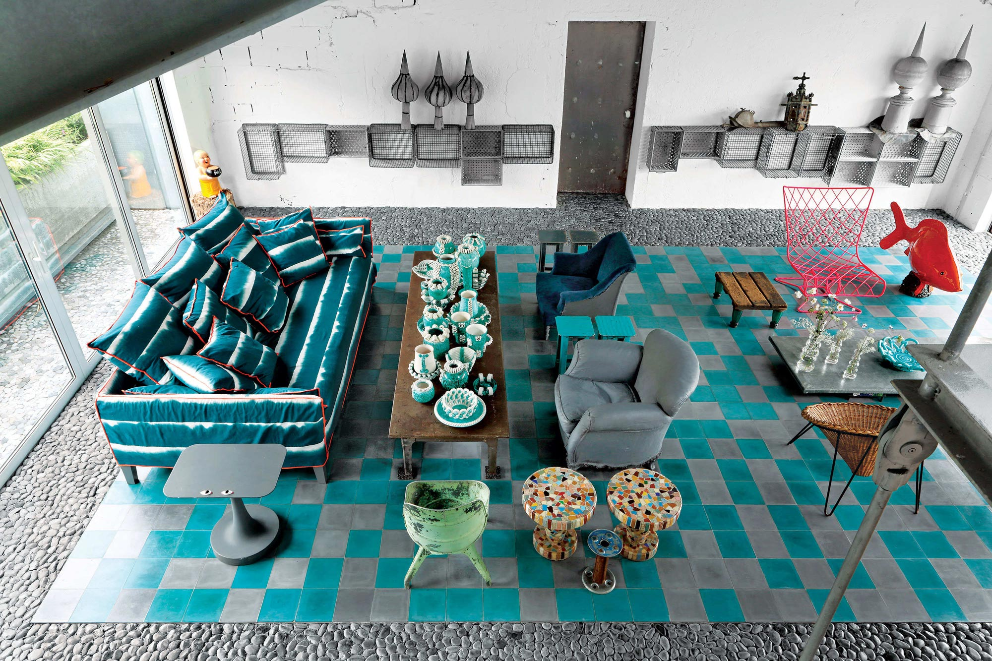 paola navone eclectic milan home