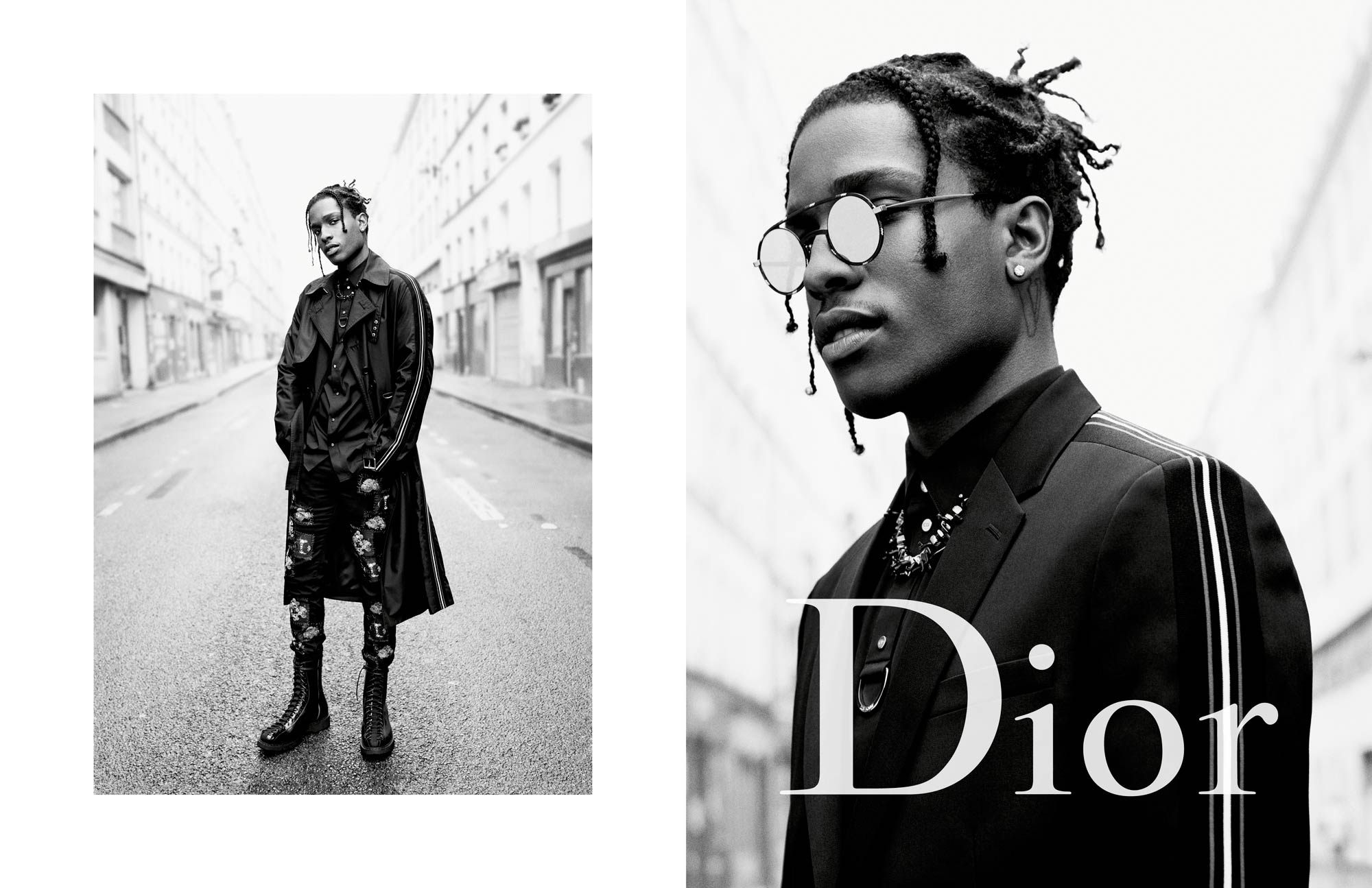 Dior Homme Summer 17 Ad Campaign Feat. A$AP Rocky & Boy George