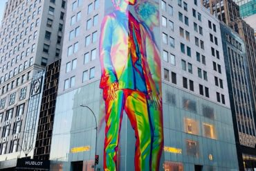 louis vuitton artwork unveiled new york LA