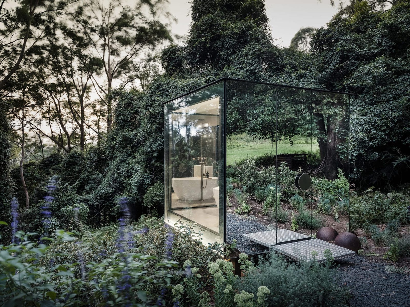 mirror outhouse by madeleine blanchfield architects featured