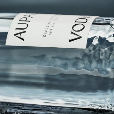 AUPALE Vodka Elegant Visual Identity – ready