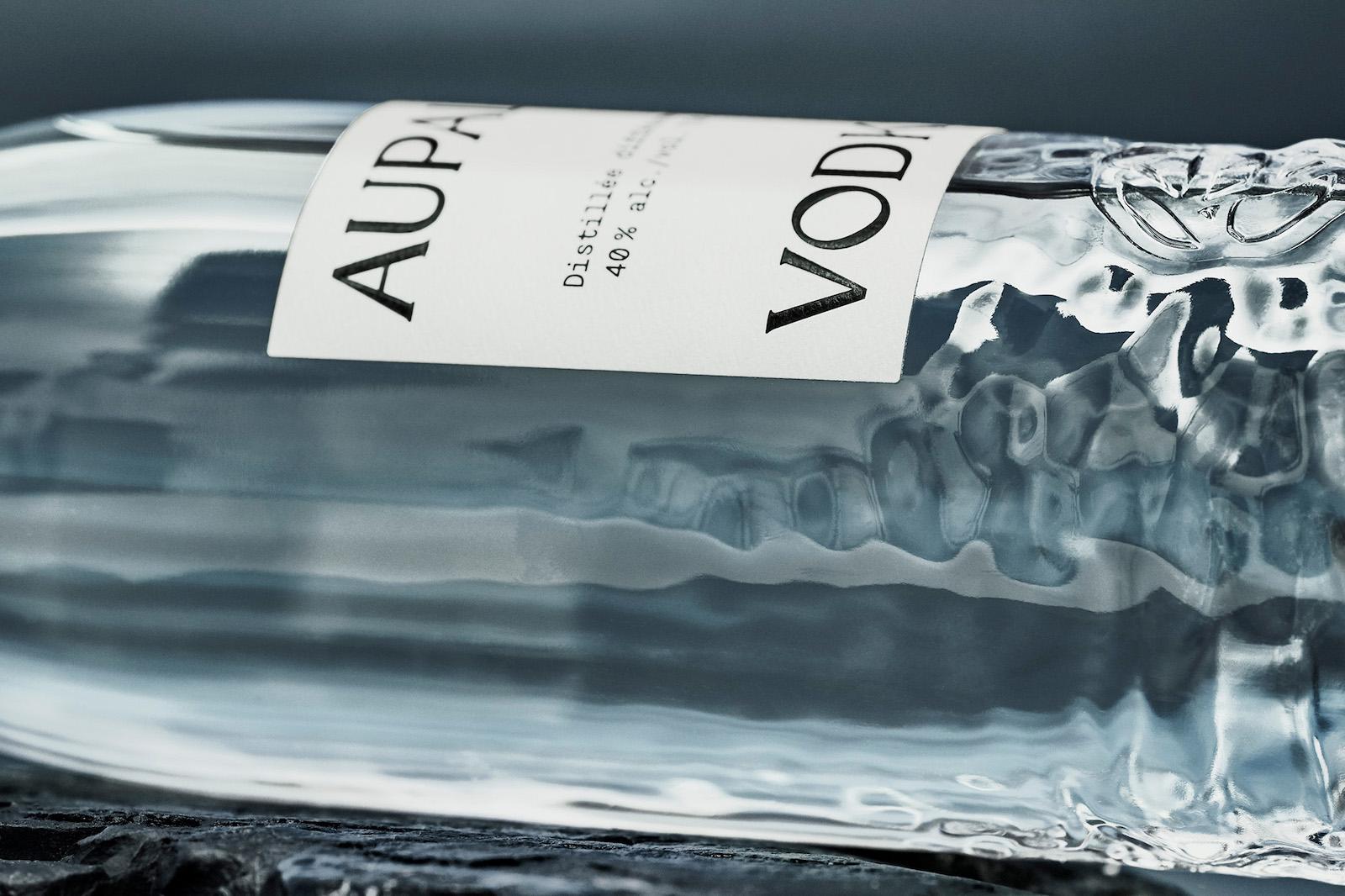AUPALE Vodka Elegant Visual Identity