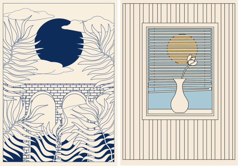 Surrealist Illustrations by George Greaves