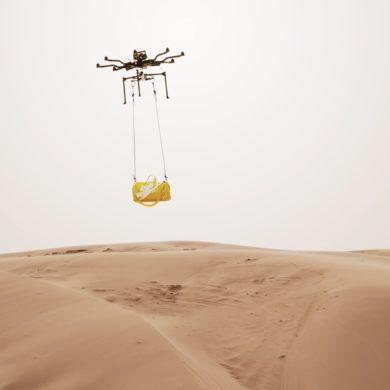 Ryan Hopkinson Stunning (Drone) Editorial for Louis Vuitton